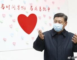 """Ông Tập Cận Bình: """"Trung Quốc chắc chắn sẽ chiến thắng dịch corona"""""""