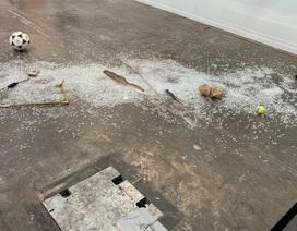 Tác phẩm nghệ thuật trị giá 20.000 USD bị vỡ tan tành trong phút chốc