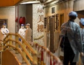 Hong Kong sơ tán chung cư trong đêm vì ca nhiễm nCoV nghi qua đường ống