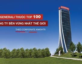 Generali lọt vào top 100 công ty bền vững nhất thế giới