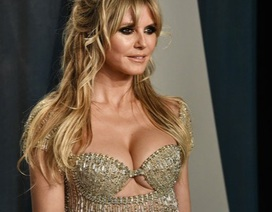 Heidi Klum bốc lửa dự tiệc Oscar 2020