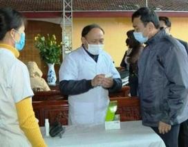 Phê bình xã và huyện lơ là trong phòng chống dịch bệnh nCoV