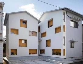 """Ngôi nhà ở Nhật Bản có cách cải tạo """"cắt làm đôi"""" gây sốc"""