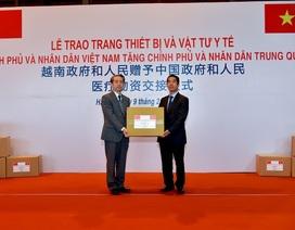 Trung Quốc cảm ơn Việt Nam hỗ trợ ứng phó virus corona
