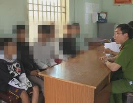 Bắt nhóm 6 thiếu niên chuyên đột nhập nhà dân trộm cắp tài sản