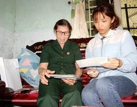 Tấm lòng thơm thảo của nữ cựu chiến binh