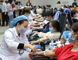 Hoạt động hiến máu lớn nhất trong năm tổ chức tại 7 điểm
