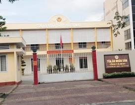 Hoãn phiên tòa xét xử nguyên Giám đốc Sở Y tế tỉnh Cà Mau