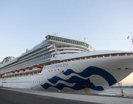 Thêm 39 người trên du thuyền ở Nhật Bản nhiễm virus corona