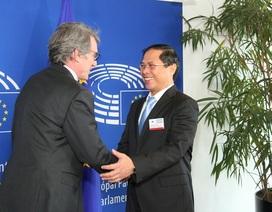 Thứ trưởng Ngoại giao Bùi Thanh Sơn làm việc tại Nghị viện châu Âu