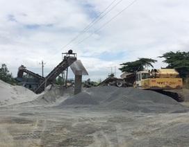 Một doanh nghiệp bị phạt hơn nửa tỷ đồng vì khai thác khoáng sản không phép