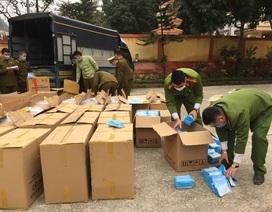 Phát hiện gần 120 nghìn khẩu trang y tế xuất lậu sang Trung Quốc