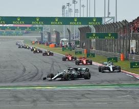 Hoãn chặng đua F1 tại Trung Quốc, đường đua Việt Nam đúng tiến độ