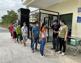Long An: Ngưng cấp giấy phép lao động cho công nhân từ vùng dịch Corona
