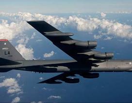 """Mỹ đưa """"pháo đài bay"""" B-52 qua eo biển Đài Loan"""