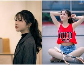 """Nữ sinh Hà thành """"gieo thương nhớ"""" với góc nghiêng xinh đẹp"""