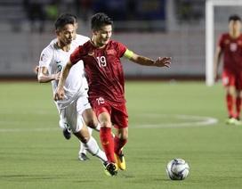 """Quang Hải: """"Đội tuyển Việt Nam khao khát được thể hiện trước Malaysia"""""""