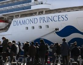 Số người nhiễm virus corona trên du thuyền ở Nhật Bản tăng lên 218