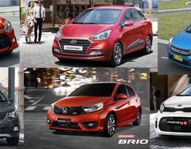 Phân khúc xe đô thị tháng 1/2020: Honda Brio vượt Toyota Wigo