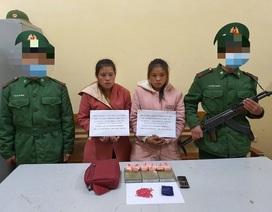 Bắt 2 thiếu nữ người Lào vận chuyển số lượng lớn ma tuý