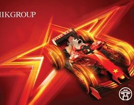 MIKGroup – Thương hiệu duy nhất được đặt tên khán đài F1