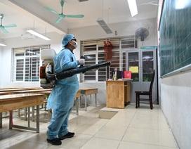 Nghệ An: Nhiều trường học chưa phun thuốc khử trùng
