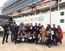 Sức khỏe HDV Việt Nam dẫn đoàn khách trên du thuyền Nhật Bản vẫn ổn định