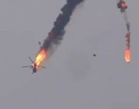 Trực thăng quân sự thứ 2 của Syria bị bắn rơi trong vòng 3 ngày