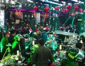 Đột kích quán bar lớn nhất Đà Lạt, phát hiện hơn 90 thanh niên phê ma tuý