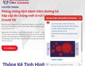 Bộ Y tế ra mắt trợ lý ảo cung cấp kiến thức, hỏi đáp về virus Covid-19