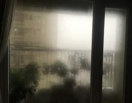 """Dân chung cư Hà Nội """"méo mặt"""" chống chọi với trời nồm ẩm giữa mùa dịch"""