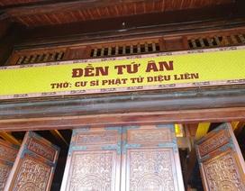 Nhà thờ Tứ Ân và nhà Tổ tại ngôi chùa Tam Chúc