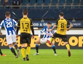 Mỗi phút Văn Hậu ra sân cho Heerenveen đáng giá... 1 tỷ đồng
