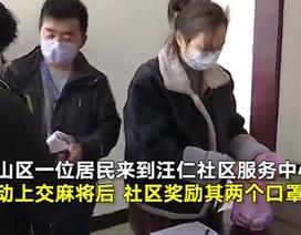 """""""Tuyệt chiêu"""" khuyến khích người dân chống dịch Covid-19 ở Trung Quốc"""
