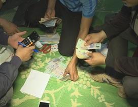 Triệt phá ổ bạc lớn tại huyện biên giới