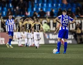 Hàng thủ chơi tệ hại, Heerenveen thua thảm ở giải Hà Lan