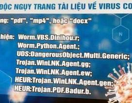 Công an Hà Nội cảnh báo về mã độc ngụy trang tài liệu về virus corona