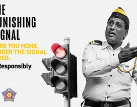 Cảnh sát Ấn Độ dùng chiêu độc để giải quyết vấn nạn còi xe