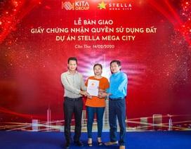 KITA Group bàn giao Chứng nhận quyền sử dụng đất dự án Stella Mega City