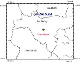 Động đất nhẹ xảy ra ở thủy điện Sông Tranh 2