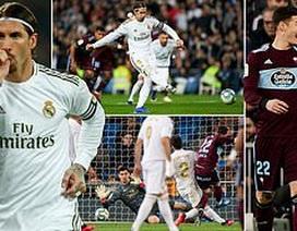 Real Madrid đánh rơi chiến thắng trước Celta Vigo