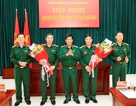 Bổ nhiệm Cục trưởng Cục Quân huấn, Bộ Tổng tham mưu