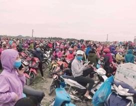 Hà Nam: Hàng trăm công nhân ngừng việc vì nghi ngờ nguy cơ Covid-19