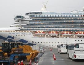 Thêm 99 người nhiễm virus corona trên du thuyền ở Nhật Bản