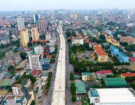 """Đại công trường trên cao 9.400 tỷ xuyên """"đường cong mềm mại"""" ở Hà Nội"""