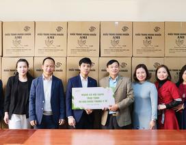 Mạng xã hội Gapo trao tặng 80.000 khẩu trang y tế