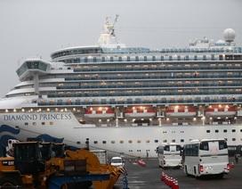 542 người nhiễm virus corona trên du thuyền ở Nhật Bản