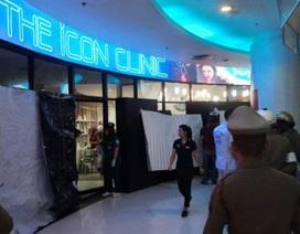 Nổ súng giữa trung tâm thương mại ở Bangkok
