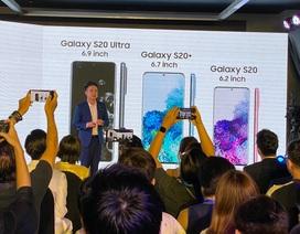 Samsung Galaxy S20 chính thức ra mắt tại Việt Nam, giá từ 21,5 triệu đồng