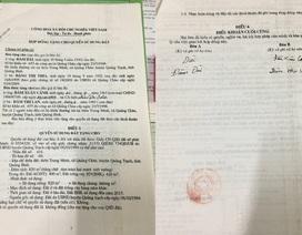 """UBKT Tỉnh ủy vào cuộc vụ người chết vẫn """"ký"""" giấy cho đất"""